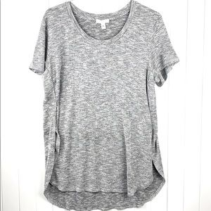 Love, Fire Short Sleeve Knit Tunic. XL